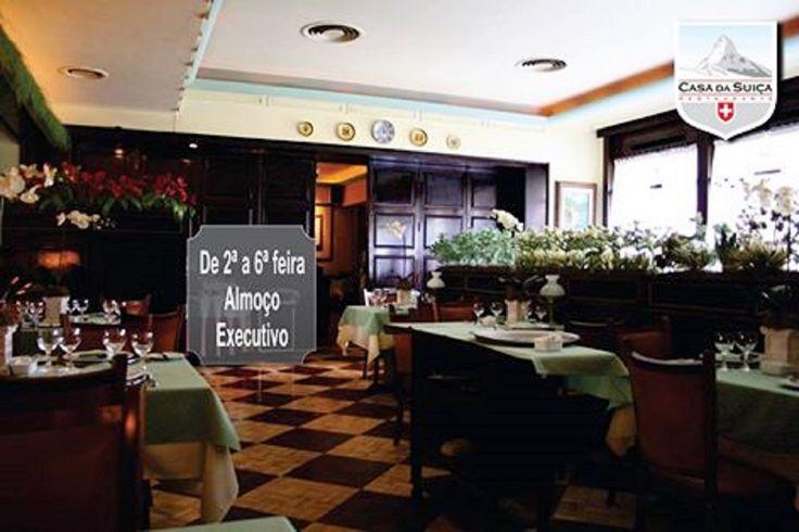 O almoço durante a sua semana de trabalho pode ser num ambiente aconchegante e com um cardápio saboroso!  2ª a 6ª feira 12h às 15h - Rua Cândido Mendes, 157 Glória – Rio de Janeiro   tel : 21 2252-5182   2252-2406   Aceitamos todos os cartões de credito, inclusive TR, VR, Elo, Aelo, Visa Vale, Sodexo   http://www.casadasuica.com.br/ https://www.facebook.com/Casa-da-Su%C3%AD%C3%A7a-131710756872332/