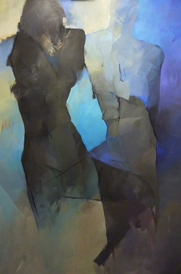 abstract figures by larissa strunowa