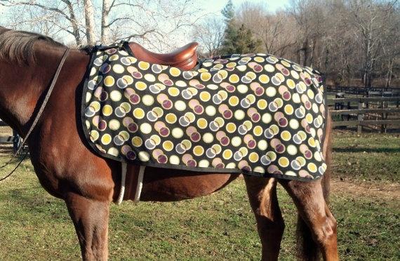 Custom Horse or Pony Quarter Sheet - Patterned Fleece ...