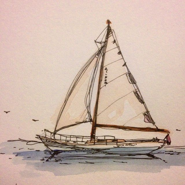 #sailboat on the #sea
