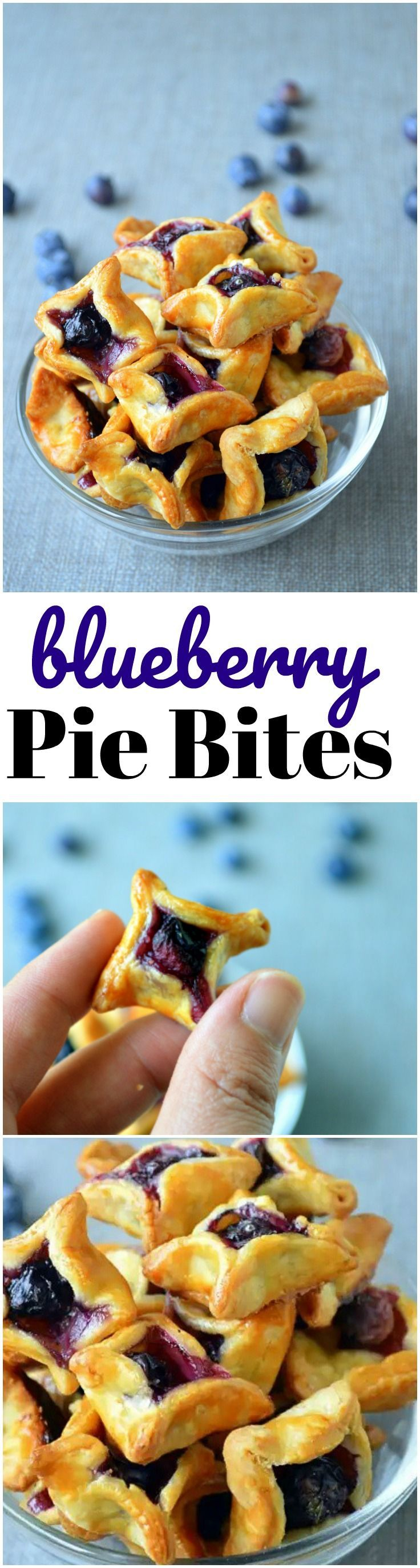 "Blueberry Pie Bites are great when you want ""just a bite""! They also make excellent ice cream topping!"