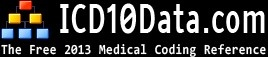 The Web's Free 2013 ICD-10-CM Medical Coding Reference  We've taken the ICD-10-CM coding books and added over 10.6 million hyperlinks between codes to make it faster and easier to find what you need.