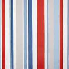Buy little home at John Lewis Harrison Stripe Curtain, Red / White / Blue Online at johnlewis.com