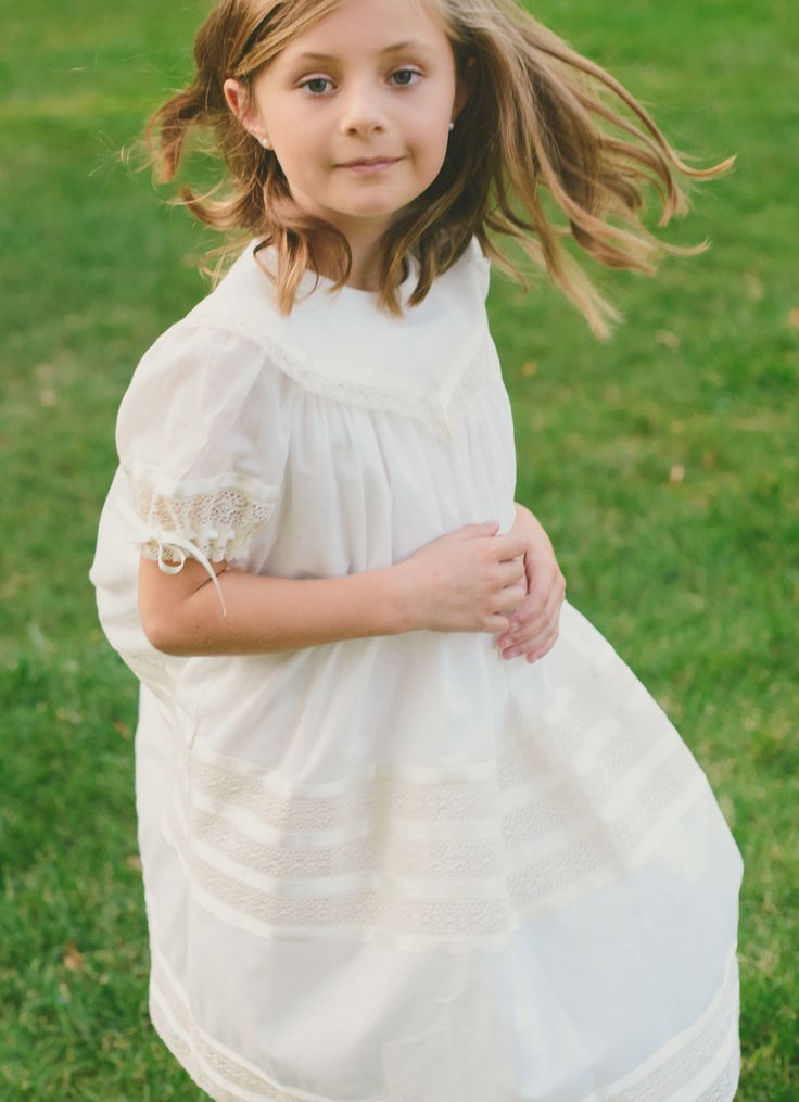 Loving this #flowergirldress {100% Silk with 100% cotton linings quality heirloom flower girl dress}-- perfect for a wedding, Easter or even a fun tea party.