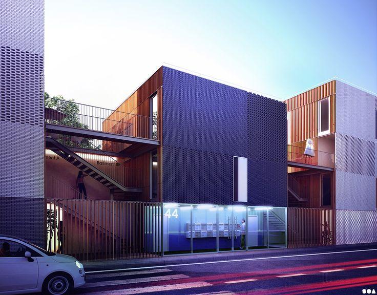 SOA Architectes Paris > Projets > Petit Beaumont