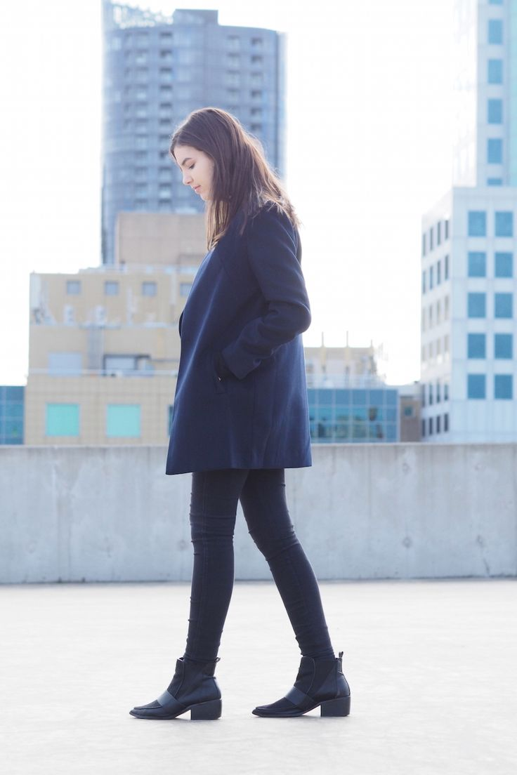 minimal style monochrome the fifth label rooftop fashion blogger