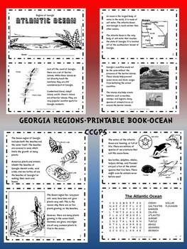 This is a bundle pack of all five of my Georgia regions printable books. Regions included are Swamp, Ocean, Coastal Plain, Piedmont, and Mountain. ...