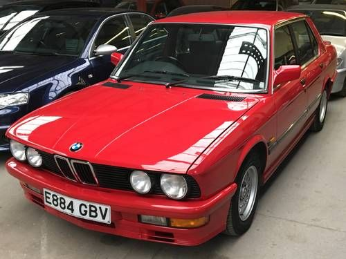 BMW 520i LUX 1988 Owned From New Only 39,000mls For Sale