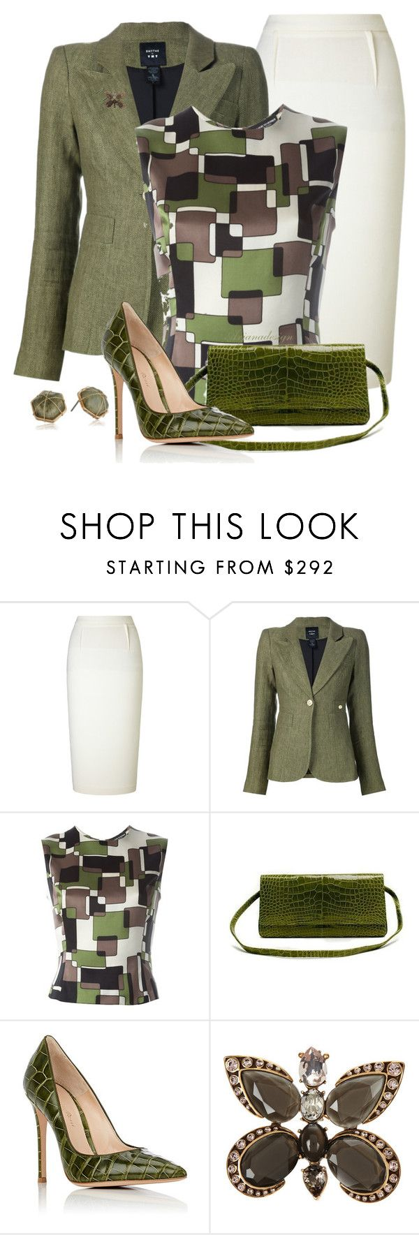"""FALL WORKWEAR"" by arjanadesign ❤ liked on Polyvore featuring Roland Mouret…"