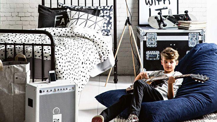 Стильное оформление комнаты подростка