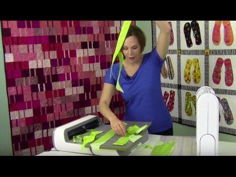 Cut Bias Binding in Under a Minute - YouTube