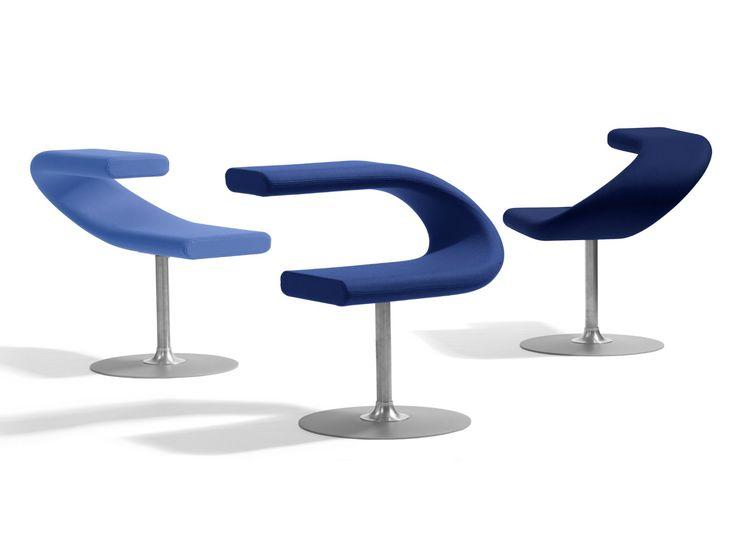 Swivel Upholstered Chair INNOVATION C By Blå Station Design Fredrik Mattson