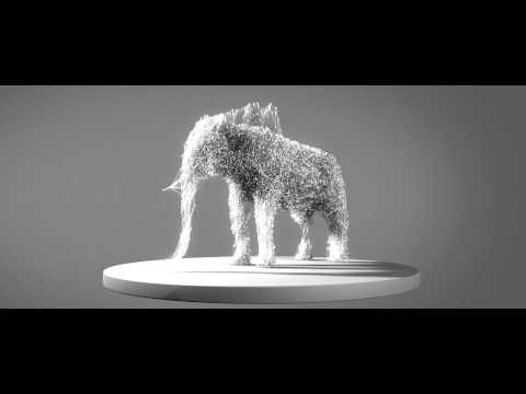 X-Particles - Visual Experiment - YouTube