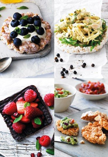 Rice cakes for lunch? Try these tasty topping ideas