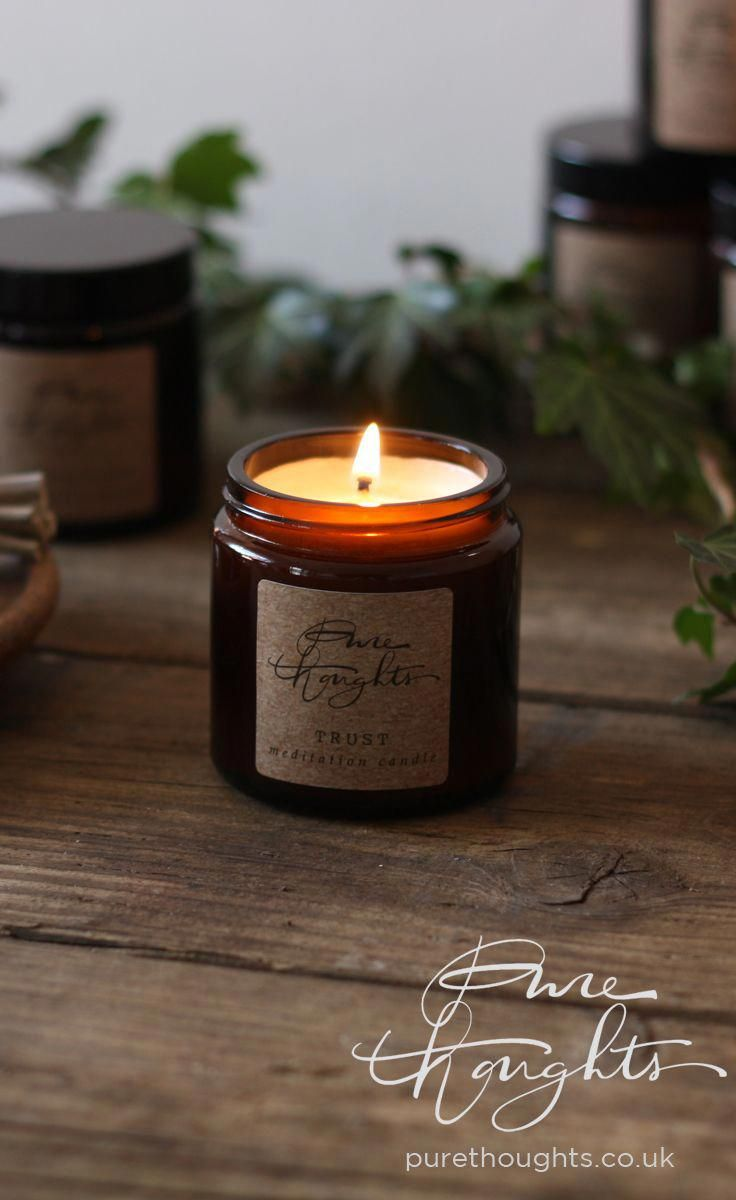 Patchouli essential oil aromatherapy candle Patchouli candle  meditation candle