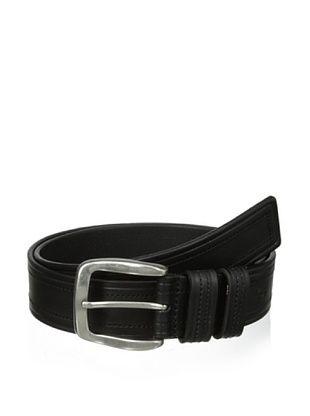 57% OFF J.Campbell Los Angeles Men's Stitched Belt (Black)