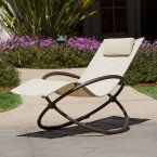 RST Brands Orbital Outdoor Lounger - Outdoor Chaise Lounges at Hayneedle