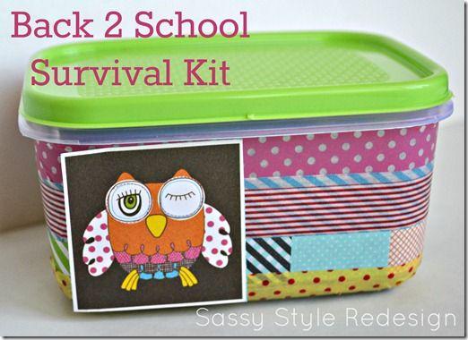 school locker accessories australia diy canada survival kit