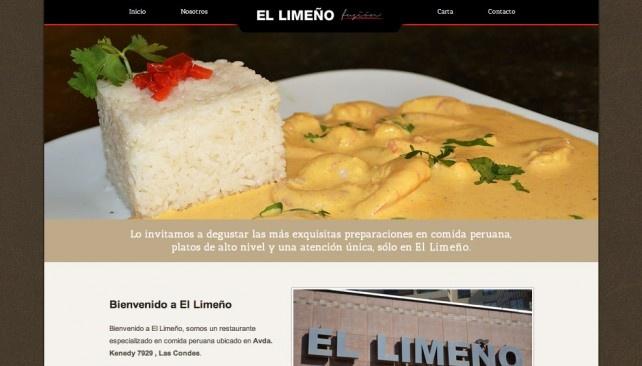 Check out the new web design for  El Limeño Restaurant from apkestudio.com/blog  www.ellimeno.cl