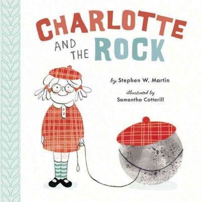 Charlotte and The Rock by Stephen W. Martin (E MAR): Initially disappointed when her parents finally agree to let her have a pet and give her a pet rock that cannot cuddle, fetch or help her eat her veggies, Charlotte unexpectedly bonds with the rock and wonders if he is capable of returning her love. By the author of Robot Smash. Simultaneous eBook.