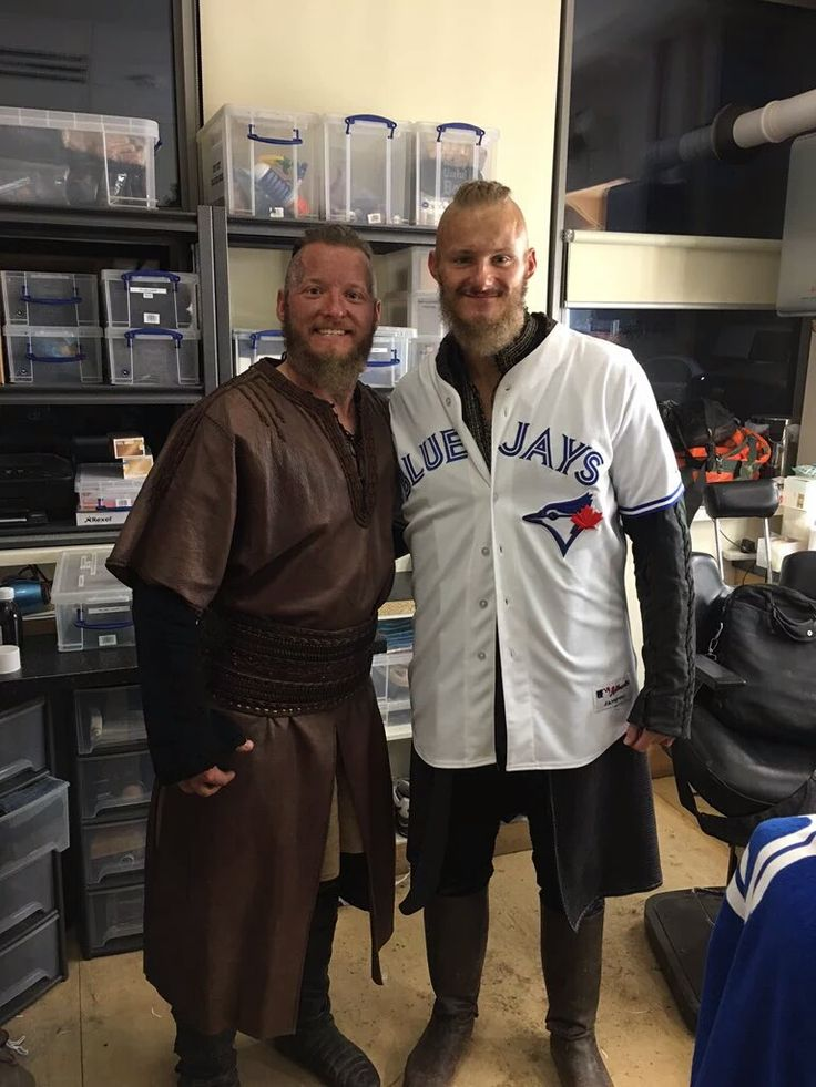 Josh Donaldson appears on VIKINGS - fall 2016