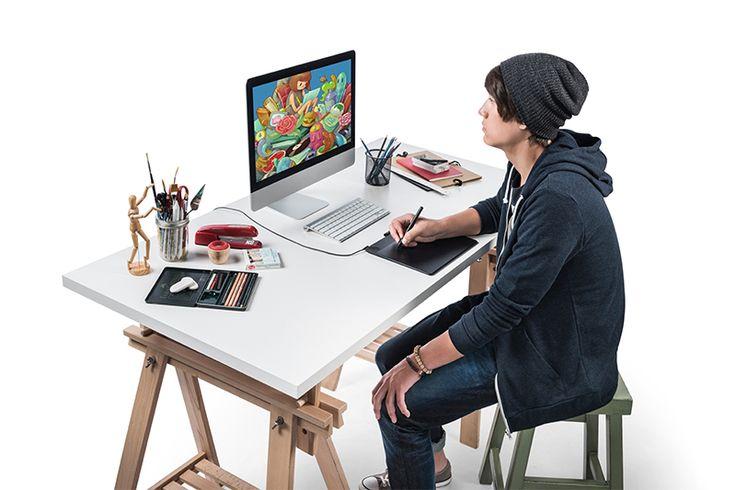 Mesa digitalizadora Wacom Intuos Art média - CTH690AK - Wacom Store