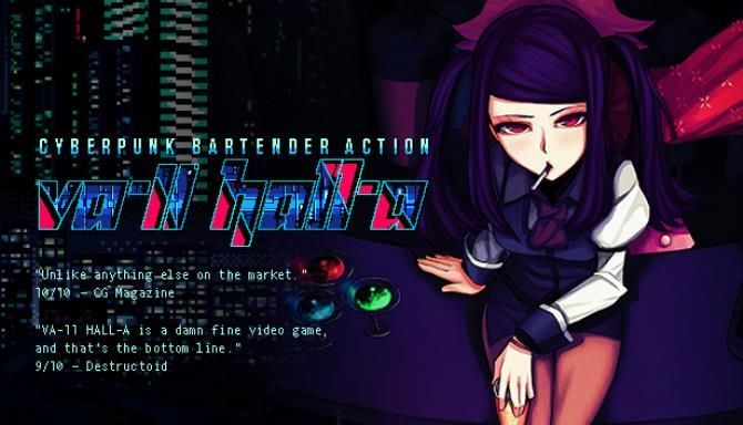 Va 11 Hall A Cyberpunk Bartender Action Pc Games Free Download V1 3 ในป 2020