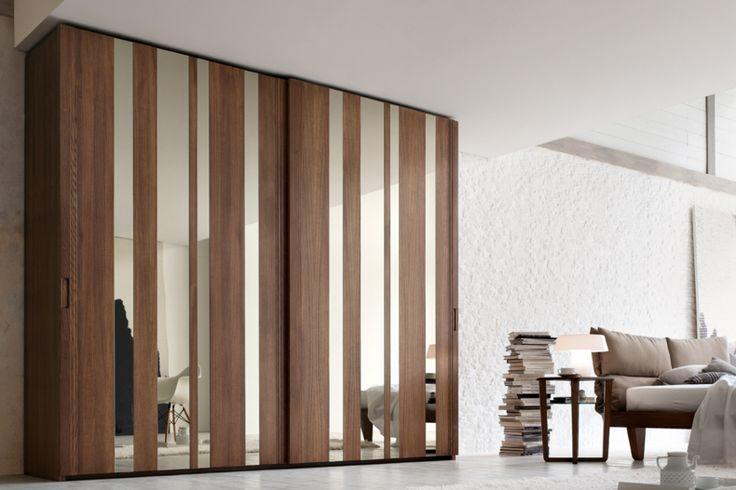 #letto #camera #zonanotte #comfort #funzionale #tradizionale #legno #mobile #armadio #fasolin #imbottiti #armadio #specchi
