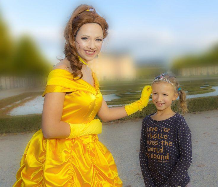 Belle Sie wünschen sich eine echte Märchenprinzessin als Überraschung auf Ihrer Feier?