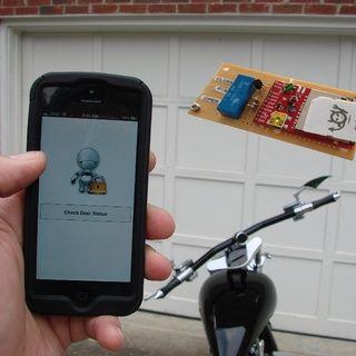 Electric Imp Garage Door Opener - http://www.instructables.com/id/Electric-Imp-Garage-Door-Opener/