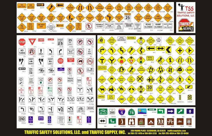 Us Traffic Signs And Meanings - ExtraVital Fasion