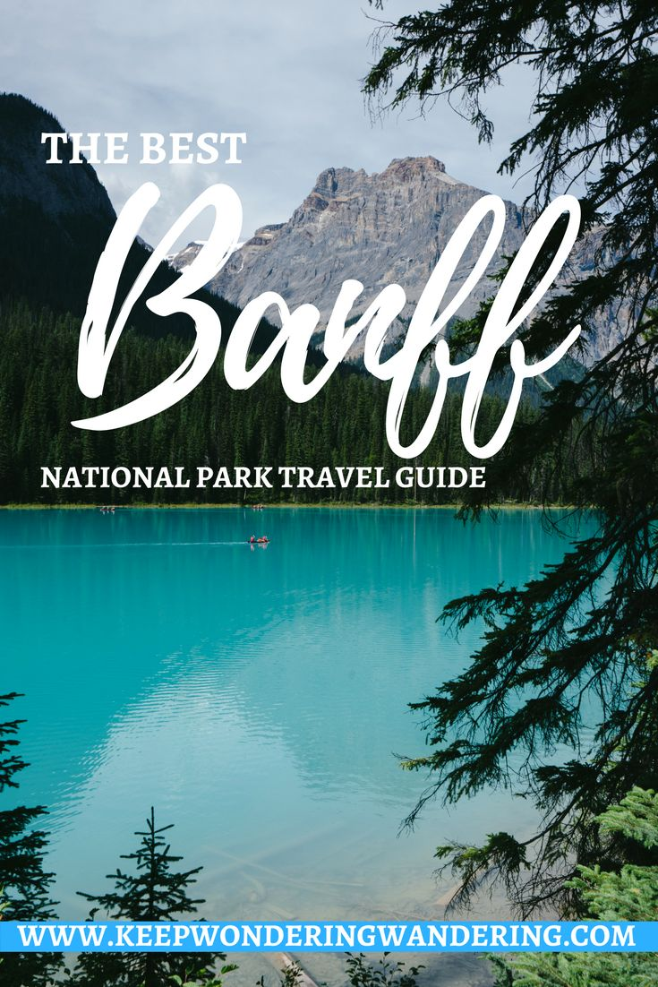This Banff National Park travel guide was so helpful when I was planning my trip!