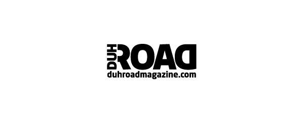 Duh Road Magazine. Logo design by Antoine Chung.