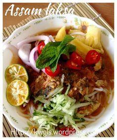 Assam Laksa Recipe