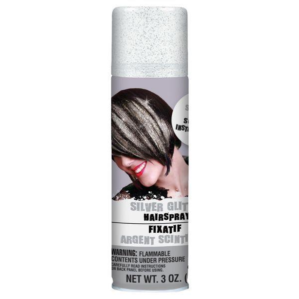 Silver Glitter Hair Spray