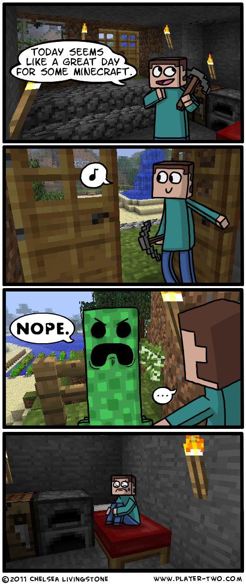 Minecraft Time by ~ColonelCheru on deviantART