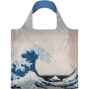 Loqi Reusable Shopping Bag - Hokusai Wave