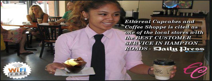Ethereal cupcakes| Hampton Roads Wedding Cakes | Bakery | Coffee
