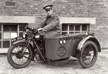 Vintage Royal Mail Carrier!