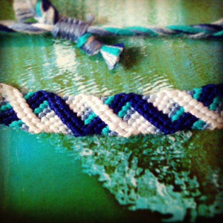 Normal Friendship Bracelet Pattern #8859 - BraceletBook.com