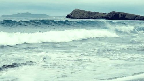 It's only Tuesday, which means it's a LONG time until Friday. Look at these waves and come back to your zen spot.