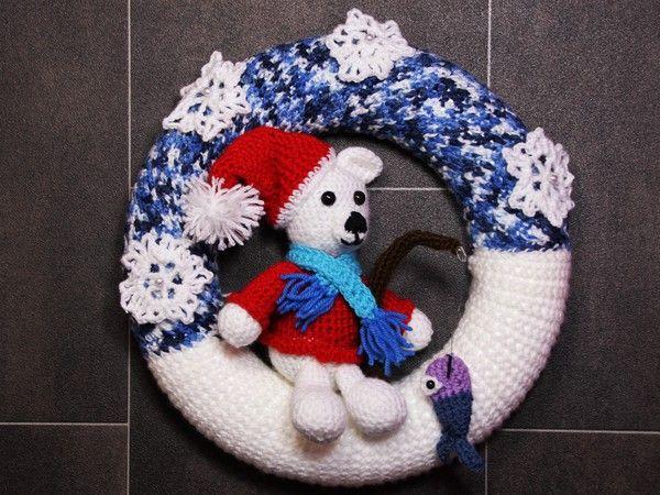 Ohne Türkranz fehlt Deiner Deko was. Der Eisbär ++ Mütze ist ein tolles…
