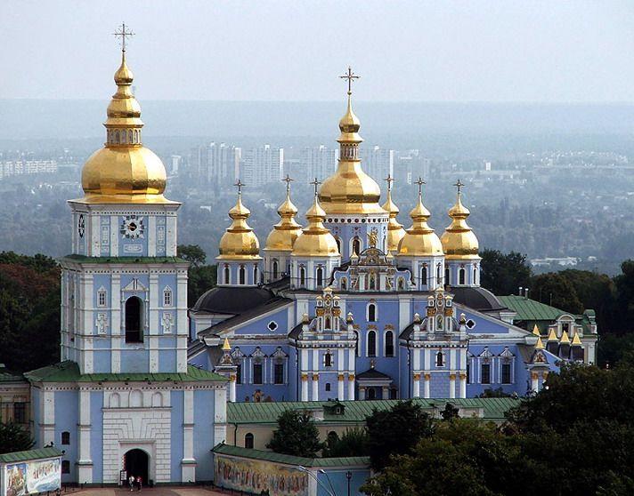 St. Michaels in Kiev, Ukraine...I want to go back!