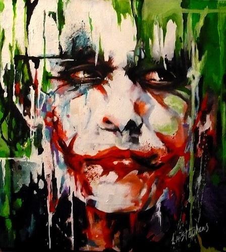 POP art.: Why So Serious, Artists, Jokers Batman, The Jokers, My Heart, Jokers Art, Fans Art, Painting, Heath Ledger