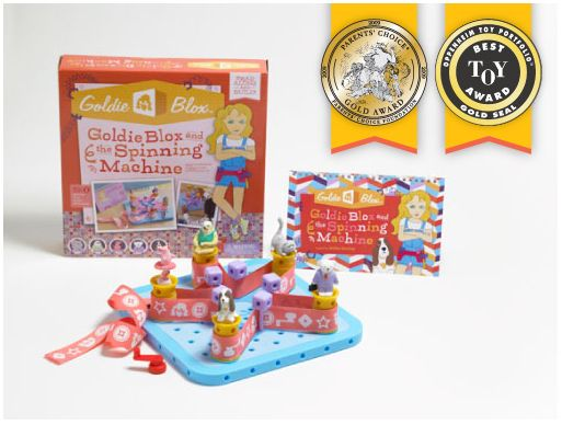 Engineering Toys for Girls http://www.goldieblox.com/