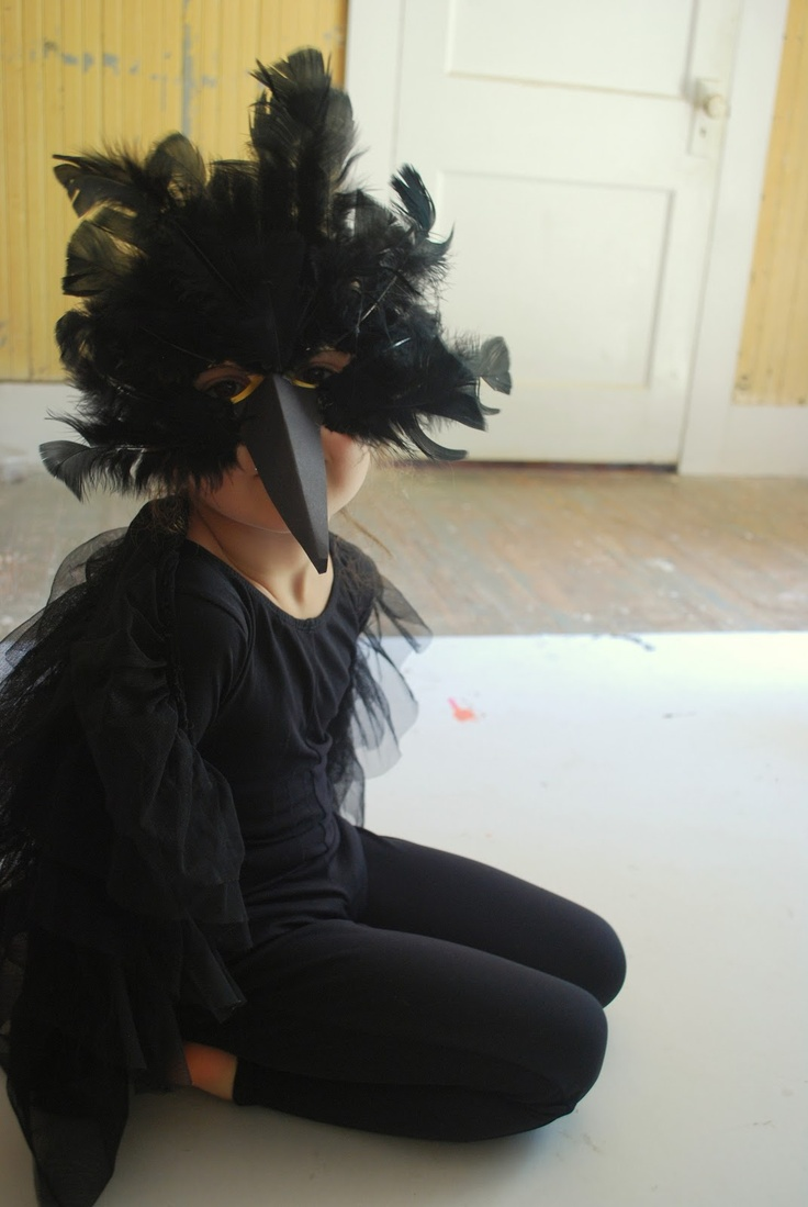 Best 25+ Crow costume ideas on Pinterest | Raven costume, Bird ...