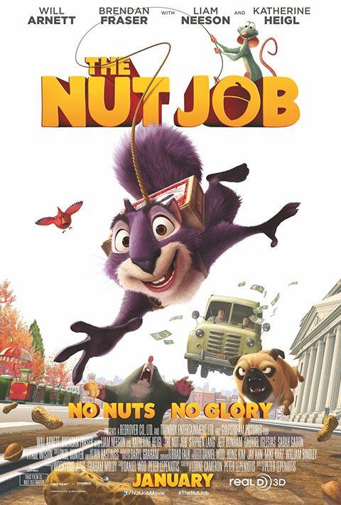 """NUT JOB - OPERAZIONE NOCCIOLINE Film d'animazione onesto e senza grosse pretese, col solito connubio di citazioni (il tormentone """"Winter is coming"""") e battute leggere, sostenuto da un buon ritmo narrativo. Lo eleva dalla media la morale finale, che invita i bambini – e non solo – all'altruismo (""""Life's there for the sharing""""). RSVP: """"La gang del bosco"""", """"Toy Story 3"""". Voto: 6,5."""