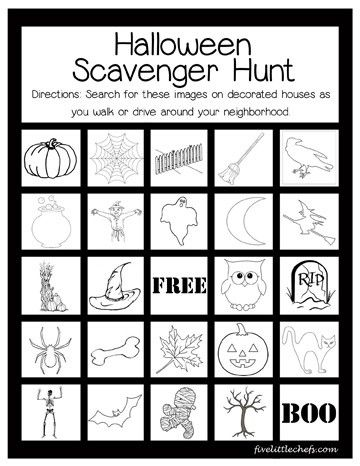 Best 25+ Halloween scavenger hunt ideas on Pinterest
