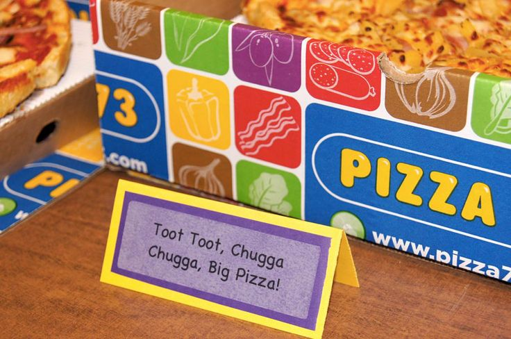 Food labels according to wiggles' songs!