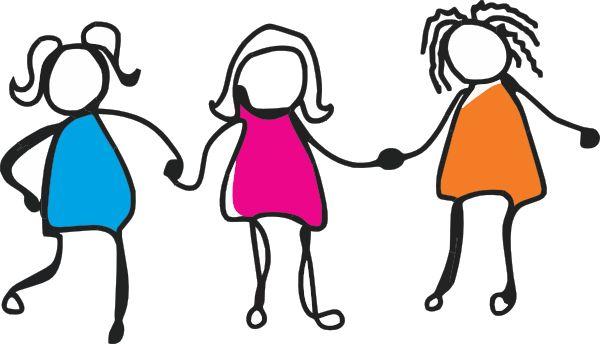 girlfriends stick figure clip art bing images rita pinterest rh pinterest co uk
